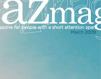 Spazmag, magazine layout design