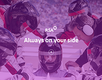 RSA - Always on your side website