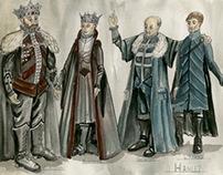 Hamlet- Theortical Costume