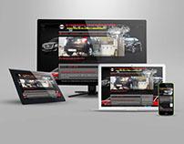 Web stranica za autopraonicu