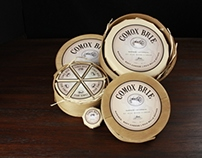 COMOX BRIE CHEESE _ re-design