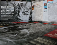 Photo Contest Winner for Cat Food Brochure