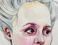 Anna- watercolor progression