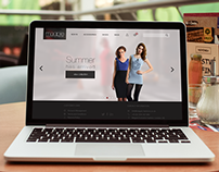 Online Fashion Shop Responsive Website Design