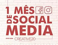 Social Media de Barbearia