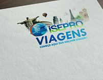 Criação de Logotipo ISEPRO VIAGENS