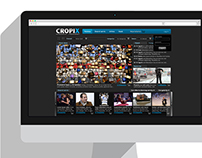 Cropix Photo Agency website