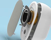 Redesigned Speaker