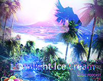 "Cover ""Moonlight Ice Cream 008 mixed by KeyOpenLife"""