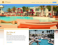 Petunia Golf Resort | Web Design