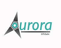 Logo Design | Aurora, UAV Team at IIIT-Delhi