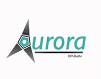 Logo Design | Aurora, UAV Team at IIIT-Delhi
