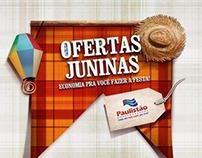 Festa Junina - Paulistão Supermercados