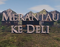 Novel Merantau Ke Deli - Motion Graphic