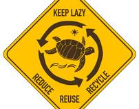 Laziness Street Signs