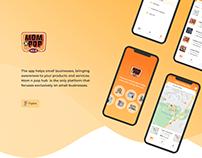 Mom N Pop Hub. Mobile App