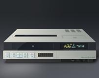 Video Cassette Recorder Illustration