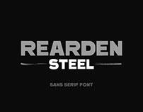 Rearden Steel - Sans Serif Font