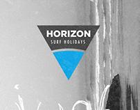 Horizon Surf Holidays Branding & Logo