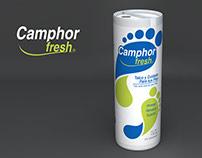 Propuestas de Diseño para Talco Camphor Fresh