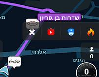 Waze Emergency Button Concept