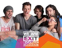 EXIT Festival 4=5! campaign
