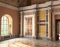 3d Ancient Hall Reconstruction
