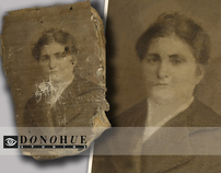 Photograph Restoration at Donohue Studios