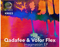 Qadafee & Volor Flex – Imagination EP