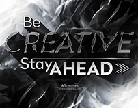 Be Creative | Typography