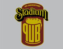 Stadium Pub Branding