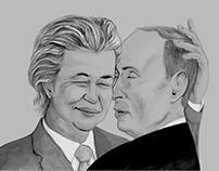 Cute couple Wilders & Putin