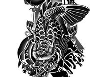 Dragon Koi