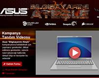 ASUS Bilgisayarımı Ateşle Projesi - Mikrosite (2013)