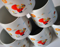 Little red riding hood cups