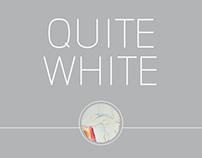 Quite white
