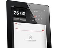 iPad App Design (FocusCoach)