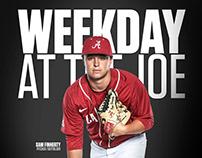 Alabama Baseball Flipcards