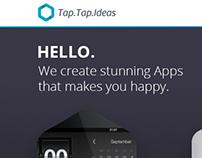 TapTapIdeas.com Redesign Concept