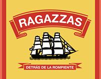 Arte de Tapa RAGAZZAS / Detrás de la rompiente