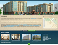 Web site about building