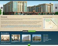 Web site about building