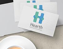 Hearth logo design