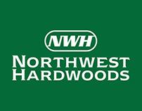 Northwest Hardwood Trade Show Graphics And Magazine Ad
