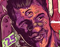 Poster Treta Fest, by Kin Noise / Trampa Studio
