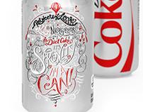 Can illustration for Diet Coke