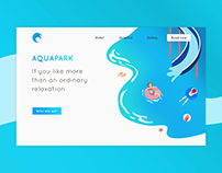 Aquapark Webdesign