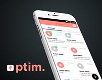 PTIM - App Design