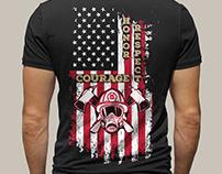 Firefighter T-Shirts Design Bundle 6