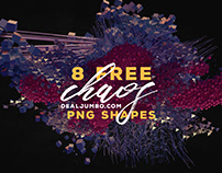 8 Free Chaos – 3D Shapes